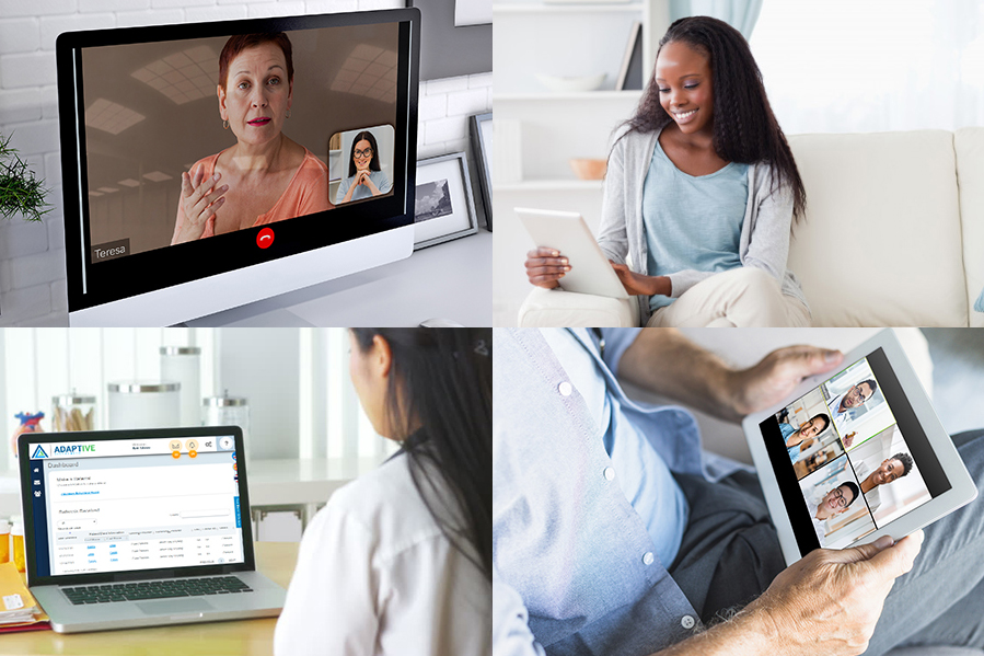 About Adaptive Telehealth - Header Image